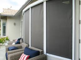 Motorized Screens For Patios Retractable Solar Screens Ers Shading San Jose Ca