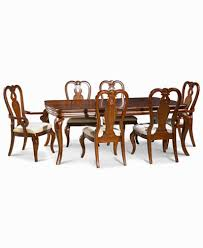 queen anne dining room set likeable queen anne dining room set bordeaux 7 piece furniture
