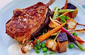 cuisiner une cote de veau côtes de veau panées à la chapelure de brûlé et printanière de