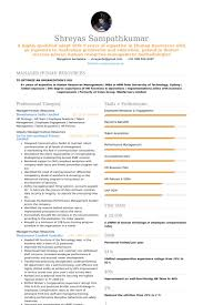 Sample Resume Business by Human Resources Resume Samples Visualcv Resume Samples Database