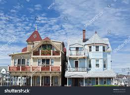 small beach house beach house ocean grove small beach stock photo 59550925