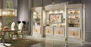High End Dining Room Sets by High End China Display Cabinet Italian Luxury Furniture