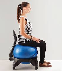 Yoga At The Office Desk 17 Best Balance Ball Chairs For Sitting Behind A Desk U2013 Vurni