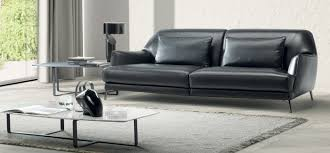 Natuzzi Leather Sofa by Don Giovanni Natuzzi Italia
