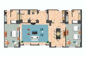 bedroom hospitality parlor suite king floorplan