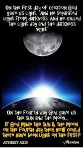what day did god create light on the first day of creation god gave us light and he separated