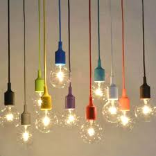 hanging light bulb fixture cast iron benches best kitchen ceiling