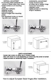 adjusting cabinet hinges types best home furniture decoration