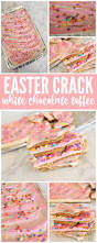i am loving this delicious easter white chocolate toffee
