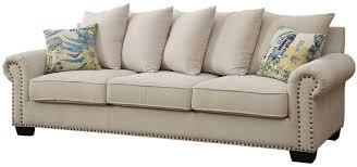 skyler ivory sofa from furniture of america coleman furniture