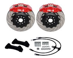 mazda rx7 fc fd front 356mm 8 pot pb brakes big brake kit bbk