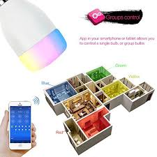 smartphone controlled outlet outlet wifi smart led light bulb weksi smartphone controlled