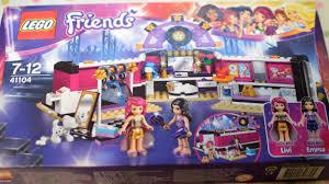 lego friends pop star dressing room review 41104 evans crittens