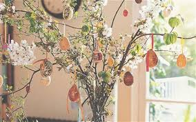 Catholic Easter Home Decorations by Easter Branch Trees U2013 Happy Easter 2017
