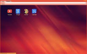 google themes lights light abstract red orange theme chrome web store