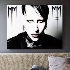 online get cheap marilyn manson poster aliexpress com alibaba group