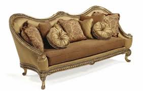 Wooden Frame Sofa Set Maribella Luxury Hand Carved Solid Wood Frame Formal Sofa