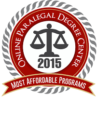 50 most affordable online paralegal degree programs 2015