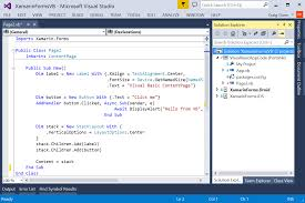 mobile apps with visual basic u0026 xamarin forms xamarin blog