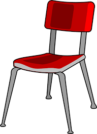 free vector graphic chair red metal office free