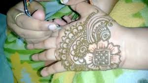 simple easy mehndi design for hands quick henna design easy