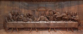 wood carving wall for sale decorative panel last supper sculpture by goran