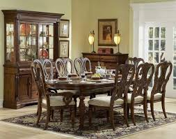 White Wooden Dining Table And Chairs Gold Frame Of Circle Mirror White Frame Windows Black And