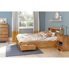 kansas solid wood full size bookcase headboard free shipping