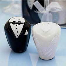 wedding salt and pepper shakers and groom salt pepper shaker wedding gift wedding favor