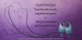 Personalized Home Decor Painting For Gray Plum U0026 Purple Bedroom