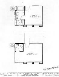 guest cottage floor plans webb sun city grand casita guest house floor plan model home