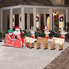 Amazon Com Outdoor Christmas Decorations best outdoor christmas decorations for 2017 u2013 review zone