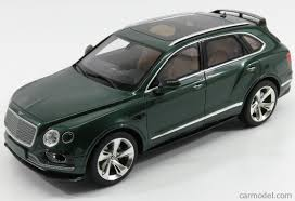 bentley sport 2016 gt spirit gt133 scale 1 18 bentley bentayga suv 2016 verdant green