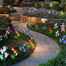 what is the best solar lighting for outside 10 flower bed lights we re buying this month family handyman