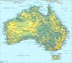 Map Australia Map Of Australia U2014 Planetolog Com