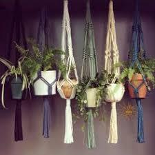 Simple Macrame Plant Hanger - diy vertical plant hanger i naptime diy