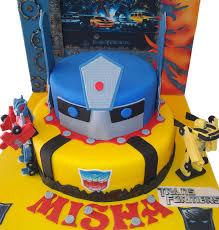optimus prime birthday party http miascakes au images transformers birthday cake png