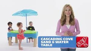 Water Table Toddler Step2 Cascading Cove With Umbrella Toys