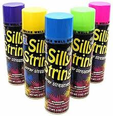 silly string silly string spray streamers 3 pack health