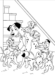 1000 images about coloring pages on pinterest in dalmatians