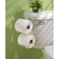 new interdesign over cistern toilet roll holder polished chrome
