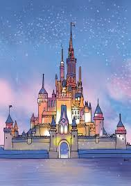 free disney wallpaper castle wallpapersafari disney castle by art4amysam on deviantart