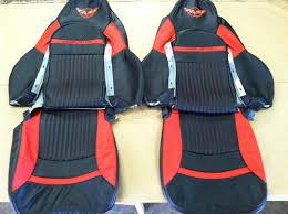 corvette seat covers c4 fs c5 100 leather custom sport seat covers blk