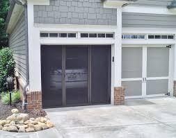 door sliding garage door screen pleasurable sliding garage door