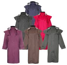 women s long waterproof coats full length and 3 4 length drover