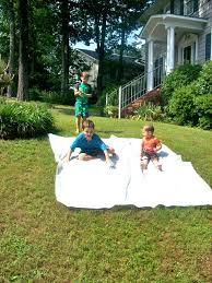 grass stains redneck slip n slide