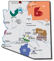 map shows gila river indian community south of phoenix marvin u0027s