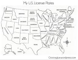 New Mexico On Us Map by License Plate Game License Plates Plays And Gaming