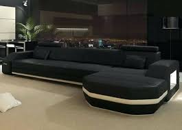 Black Microfiber Sectional Sofa Black Sectional Sofas Ipbworks