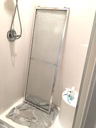 Removing Shower Doors Housekeeping How To Clean A Shower Chaotically Creative